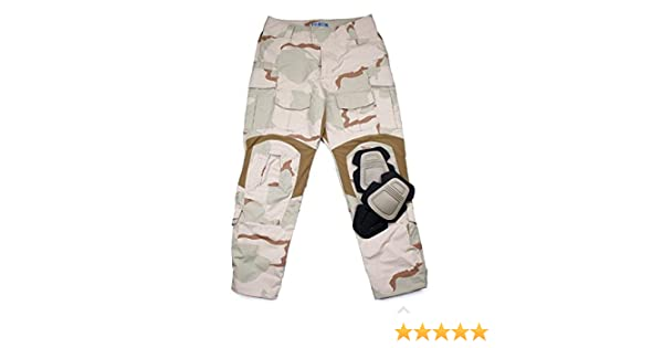 efe65557a2a0f Amazon.com : TMC G3 Combat 3D Long Pants (DCU) with Pad Set for Tactical  Airsoft Outdoor Hunting Game : Sports & Outdoors