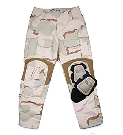 2f4fae68c915d TMC G3 Combat 3D Long Pants (DCU) with Pad Set for Tactical Airsoft Outdoor