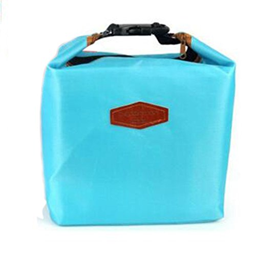 Waterproof Thermal Cooler Insulated Lunch Box Storage (Dark Blue) - 9