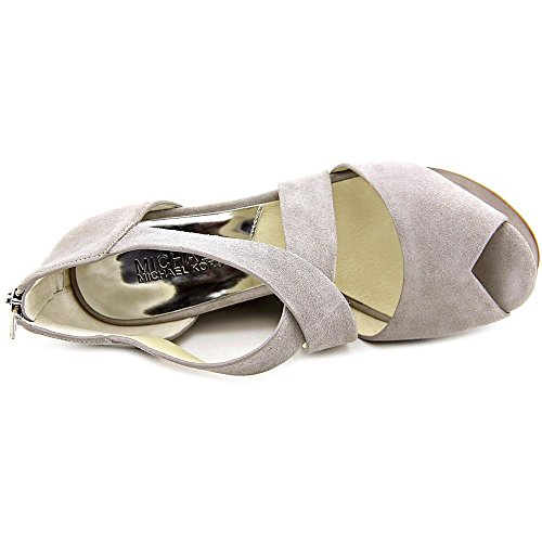 Michael Michael Kors Ariel Wedge Camoscio Scarpa con la Zeppa