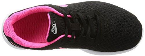 NIKE Kids Tanjun (GS) Black/Hyper Pink White Running Shoe 4 Kids US by Nike (Image #10)