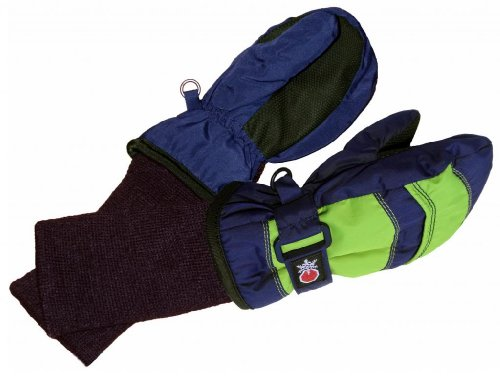 16b8cfd41 SnowStoppers Kid s Waterproof Stay On Winter Nylon Mittens - Import ...
