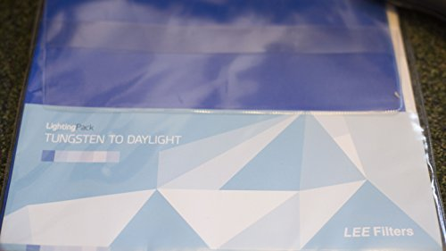 Lee Filters Tungsten to Daylight Lighting Filter Pack, 12 Sheets, 10x12'' by Lee Filters