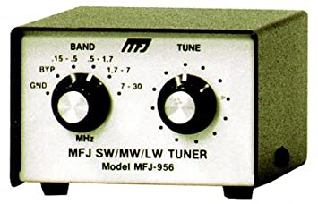 MFJ-956 - Receiver Shortwave Antenna Tuner: Amazon co uk