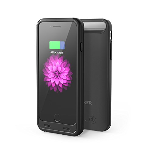 Anker iPhone 6 / 6s Battery Case [Apple MFi Certified] Premium Extended Battery Case for iPhone 6 / 6s (4.7 inch) with 3100mAh Capacity / 130% Extra Battery (Black)