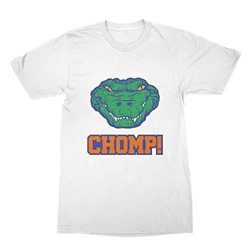 Gator Chomp Shirt Florida Gators Tshirt White