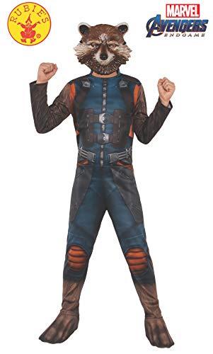 (Rubie's Marvel Avengers: Endgame Child's Rocket Raccoon Costume & Mask,)