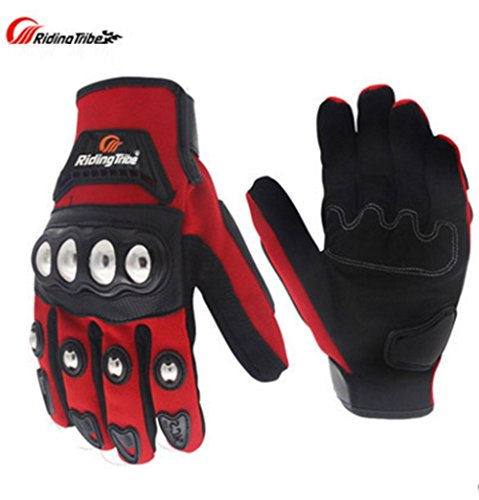 Riding Tribe Motorcycle Gloves With Full Protection Touch Screen Finger MCS-29B