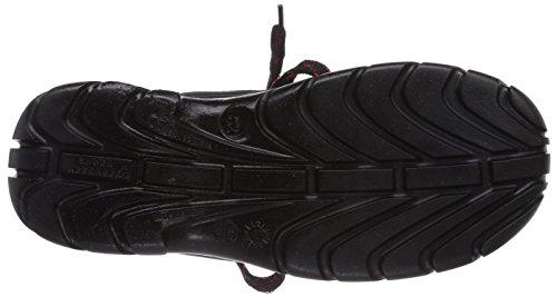 MTS Sicherheitsschuhe   Monaco S2 7152, Chaussures de sécurité mixte adulte, Noir (schwarz/rot), 47