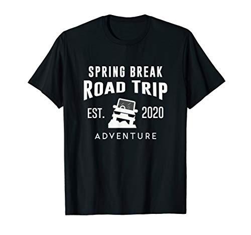 2020 Spring Break Road Trip Vacation Travels T-Shirt