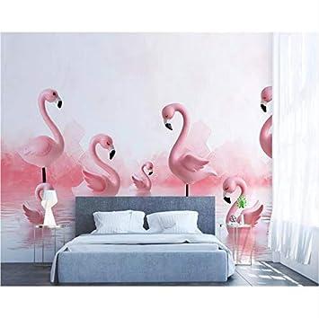 Zybnb Papier Peint Mural 3D Moderne Chambre Enfant Mur De ...