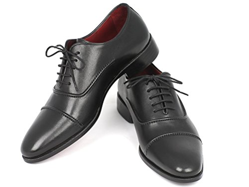 Paul Parkman, Uomini Lace Up Brogue Nero Nero