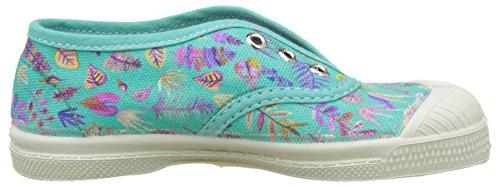 Bensimon Elly Liberty - Botas Niñas Multicolor (Feuilles Purpple)