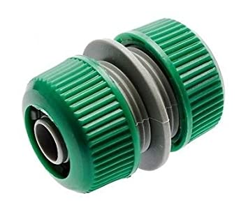 """5 x 2 Way Garden Hose Pipe Connector Joiner Plastic 1//2 /"""" Compatible With Most"""
