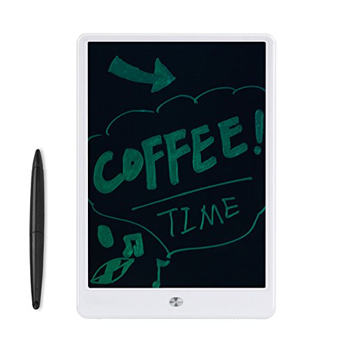 Winbuyer 10.5-Inch LCD Writing Tablet Drawing Board Paperless Digital Notepad Rewritten Pad for Draw (white)