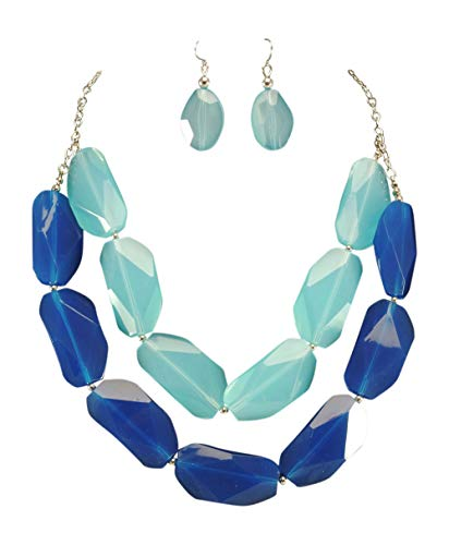 tatement Necklace & Earring Set ()