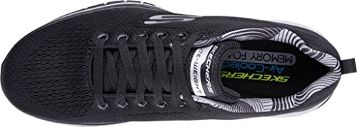 Skechers Heren Burst Tr Coram Trainer Zwart