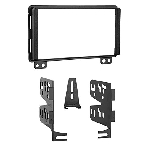 Metra 95-5026 Double DIN Installation Kit for Select 2001-up Ford, Lincoln and Mercury Vehicles -Black (Car Head Unit Installation Kit)