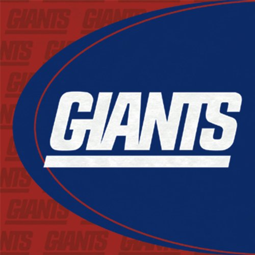 [New York Giants Luncheon Napkins - 16 Pack] (Halloween Decorations New York)