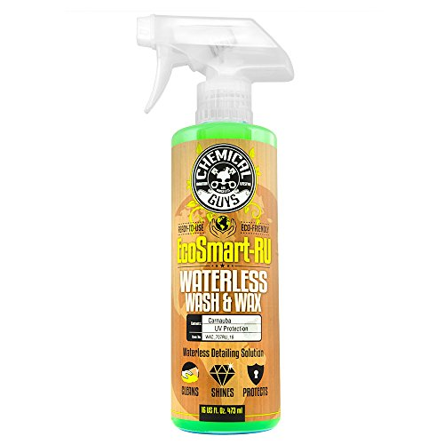 Chemical Guys WAC_707RU_16 EcoSmart-RU Ready to Use Waterless Car Wash and Wax (16 oz) (Best Waterless Car Cleaner)