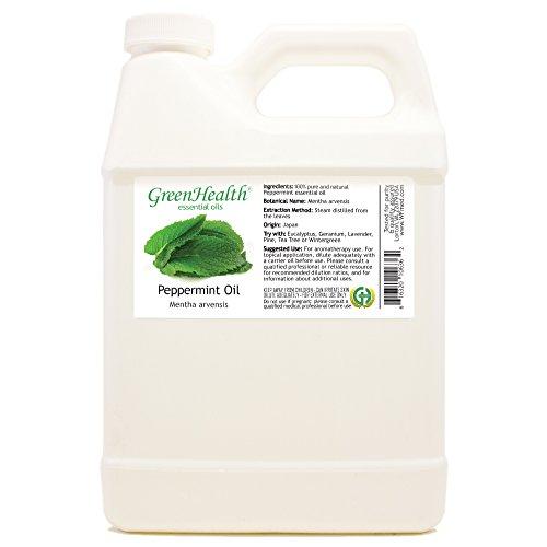 Peppermint 100% Pure Therapeutic Grade Essential Oil-32 fl oz