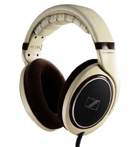 Sennheiser HD 598 Headphones (Burl Wood Accents), Best Gadgets