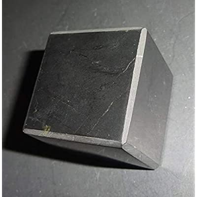 Sublime Gifts - Shungite Cube - Hand Polished Natural Crystal Healing Gemstone Square: Toys & Games