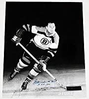 Milt Schmidt Boston Bruins Signed Autographed HOF 1961 Inscribed 16x20