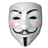 Boolavard TM V For Vendetta Anonymous Guy Fawkes The Mask Halloween Cosplay Masks