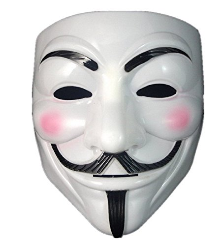 Boolavard TM V For Vendetta Anonymous Guy Fawkes The Mask Halloween Cosplay Masks Boolavard® TM