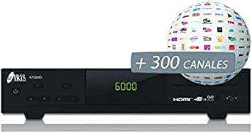 Iris 9700HD - Sintonizador de TV: Amazon.es: Electrónica