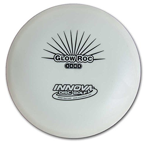 Innova Disc Golf Glow DX Roc Golf Disc, 170-174gm (Colors may - Golf Mid Roc Range Disc