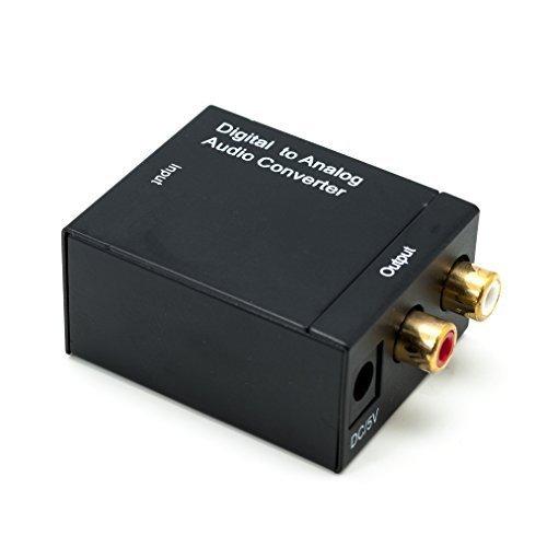 6 opinioni per QUMOX digitale Toslink coassiale ottico RCA di analogo L / R Audio Converter