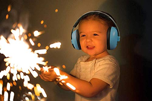 Baby Headphones Safety Ear Muffs Noise Reduction for Newborn Infant Autism Kids Toddlers Sound Cancelling Headphones for Sleeping Studying Airplane Concerts Movie Theater Fireworks, Blue by ILOVEUS (Image #3)