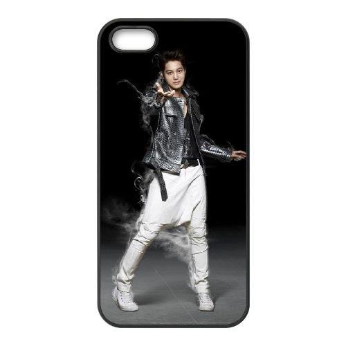Exo 005 coque iPhone 4 4S cellulaire cas coque de téléphone cas téléphone cellulaire noir couvercle EEEXLKNBC24979
