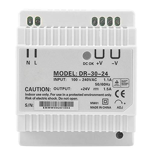 (Power Supply, 30W 24V Single Output Power Supply, AC/DC Din Rail Switching Power Supply)