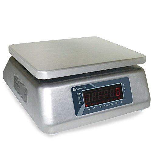 Balanza Acero Inoxidable Baxtran SS30 (30kgx2g) (23x19cm) Protección IP-67: Amazon.es: Bricolaje y herramientas