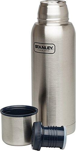 Stanley 10-01570-009 Adventure Vacuum Bottle, Stainless Steel, 1.1 - Thermos Stanley Adventure