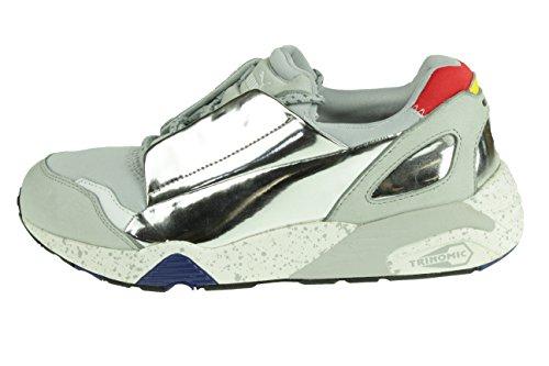 Puma MCQ Lace Disc Gr 40 UK 6,5 McQueen Damen Sneaker Schuhe Grau 359352 01