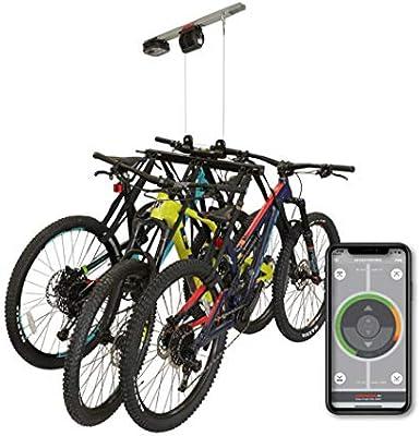 Garage Smart - Elevador multibicicleta motorizado, Levanta 1,2 o 3 ...