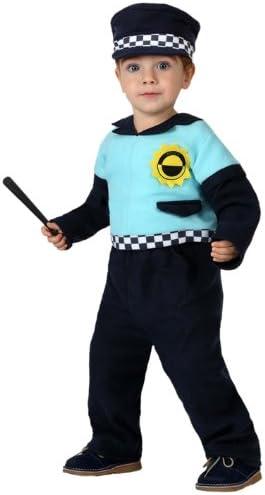 Atosa-16117 Disfraz Policía, Color negro, 12 a 24 meses (8.42226E ...