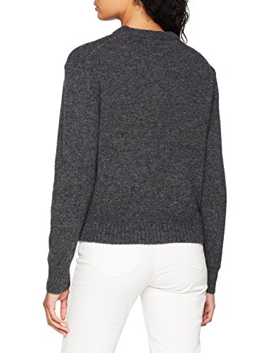 dark Felpa Wood Grey Donna Sweater Blend Anneli EwEASq4xX