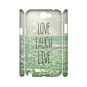 Live Laugh Love Brand New 3D Diy For SamSung Galaxy S4 Case Cover diy ygtg577516