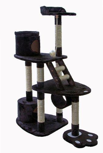 Go Pet Club 59-Inch Cat Tree, Dark Grey, My Pet Supplies