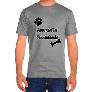 Appenzeller SENNENHUNDE Dog Cat Rescue Funny T-Shirts Tee Tshirt Men Women 6