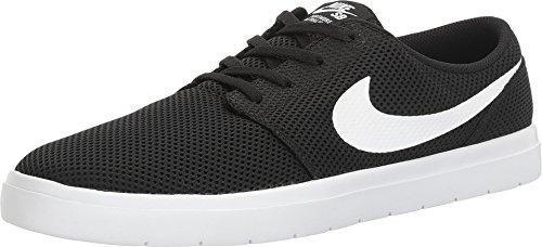 Nike Men's SB Portmore II Ultralight Skate Shoe Black/White 4 D(M) US