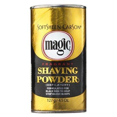 Magic Shaving Powder Gold Fragrant Case Pack 12 (Depilatory Shaving Powder)