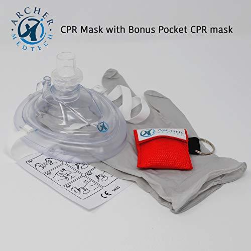 Amazon.com: RCP Máscara con válvula unidireccional Breath ...