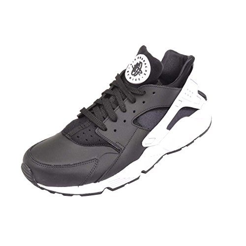 Scarpe Black Da white Uomo 042 Ginnastica Huarache Air Nike 318429 AqEYW