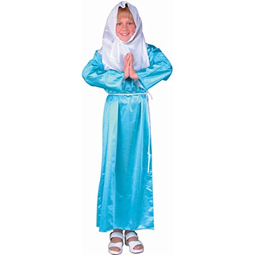 [Child's Girl's Virgin Mary Costume (Size:Large 1214)] (Girls Virgin Mary Costume)